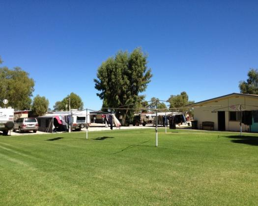 Leonora Caravan Park caravan and camp sites