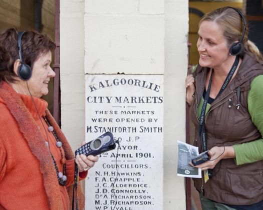 Learn about Kalgoorlie's gold rush history on a Kalgoorlie Boulder Audio Walking Tour