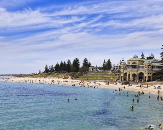 Wheatbelt Down Under Tour Cottesloe Beach Perth