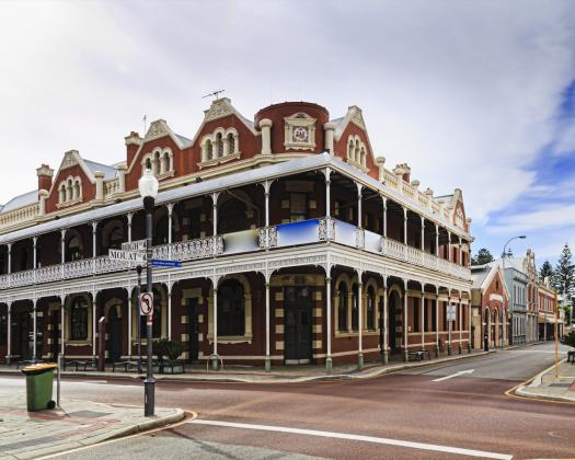 Wheatbelt Down Under Tour Fremantle streetscape
