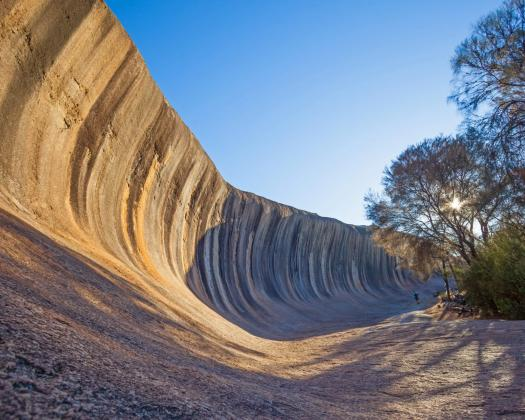 Woodlands, Rocks & Trails Outback Wilderness Tour, amazing Wave Rock