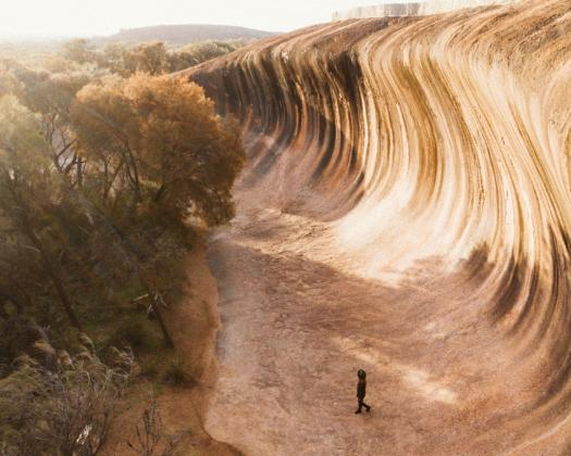 Exploring the Pathways to Wave Rock_Wave Rock near Hyden