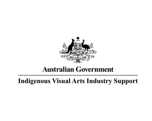 Australian Government Indigenous Visual Arts Industry Support logo