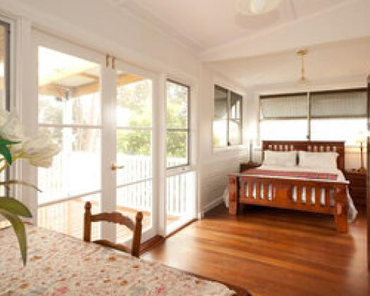 The Grange on Kalgan-bedroom deck