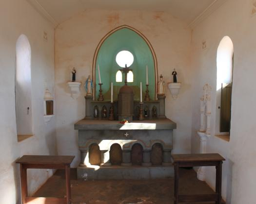 Yalgoo Chapel supplied by Gerry Eastman from Hawes Heritage Trail