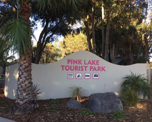 Pink Lake Tourist Park Esperance Welcome