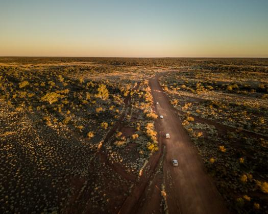 Travelling the Outback Way
