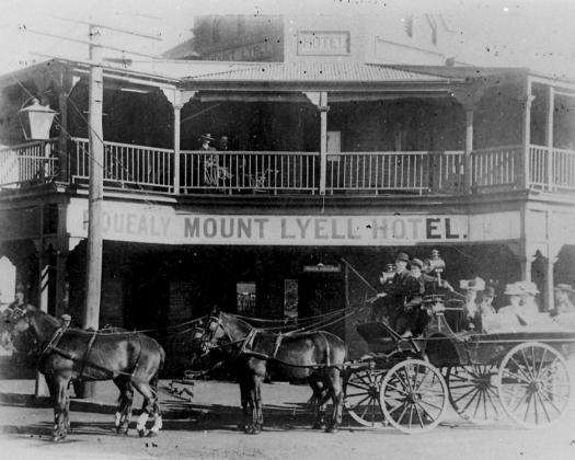Eastern Goldfields Historical Society Historical collection Mt Lyell Hotel