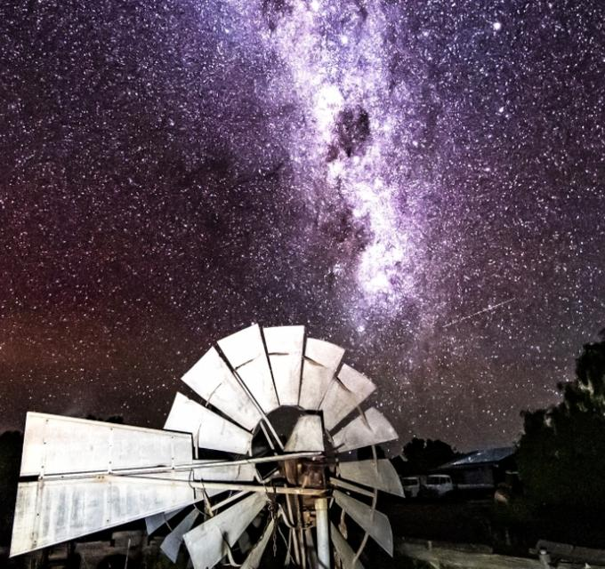 Milky Way, Wooleen Station by Sean Scott